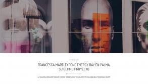 """LA GALERÍA GERHARDT BRAUN EXPONE """"ENERGY RAY"""" DE LA ARTISTA MALLORQUINA FRANCESCA MARTÍ"""