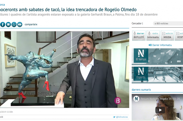 Rinoceronts amb sabates de tacó, la idea trencadora de Rogelio Olmedo
