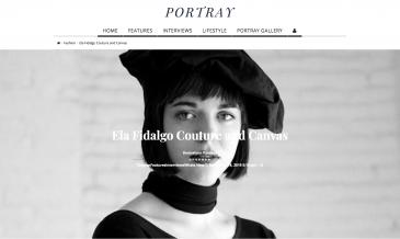 PORTRAY - Ela Fidalgo Couture and Canvas