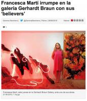 Francesca Martí irrumpe en la galería Gerhardt Braun con sus 'believers'