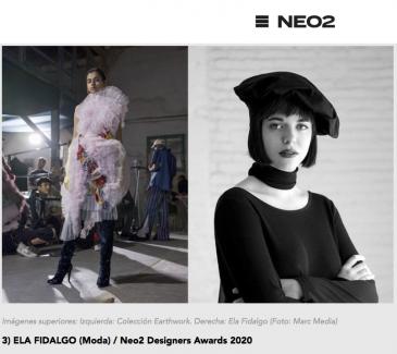 ELA FIDALGO (Moda) / Neo2 Designers Awards 2020