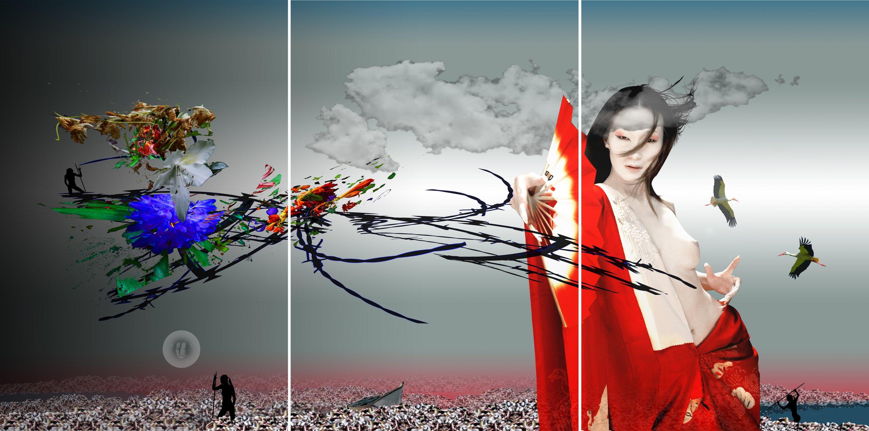 La Liberté I Triptych