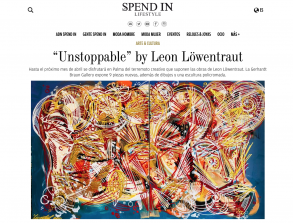 """""""Unstoppable"""" by Leon Löwentraut"""