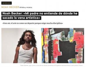 DIARIO DE MALLORCA - NOAH BECKER