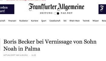 FRANKFURTER ALLGEMEINE ZEITUNG - NOAH BECKER